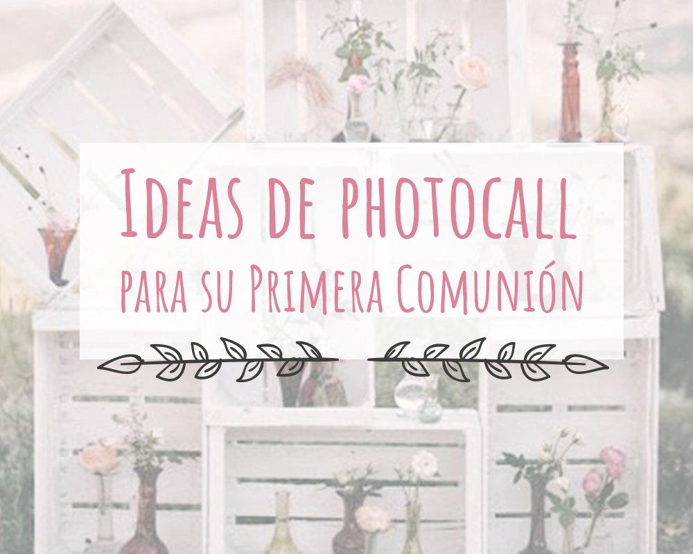 Ideas de photocall para tu primera comunión