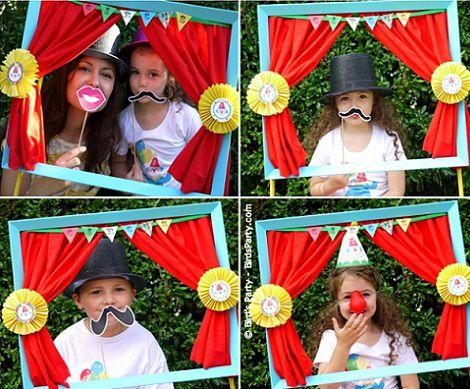 organizar-un-photocall-infantil-casero-circo