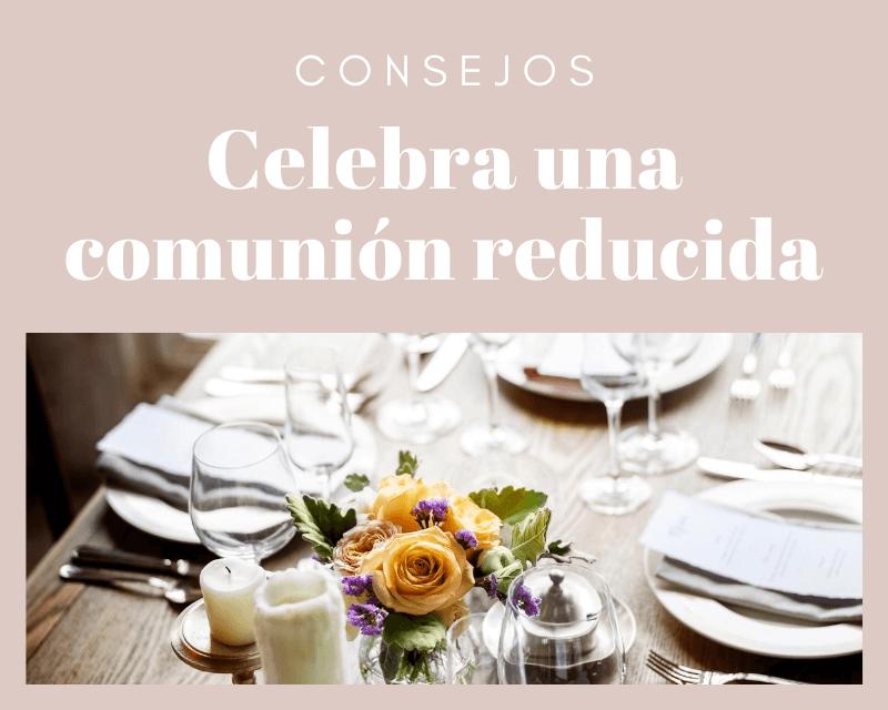 Celebrar una comunión en Septiembre