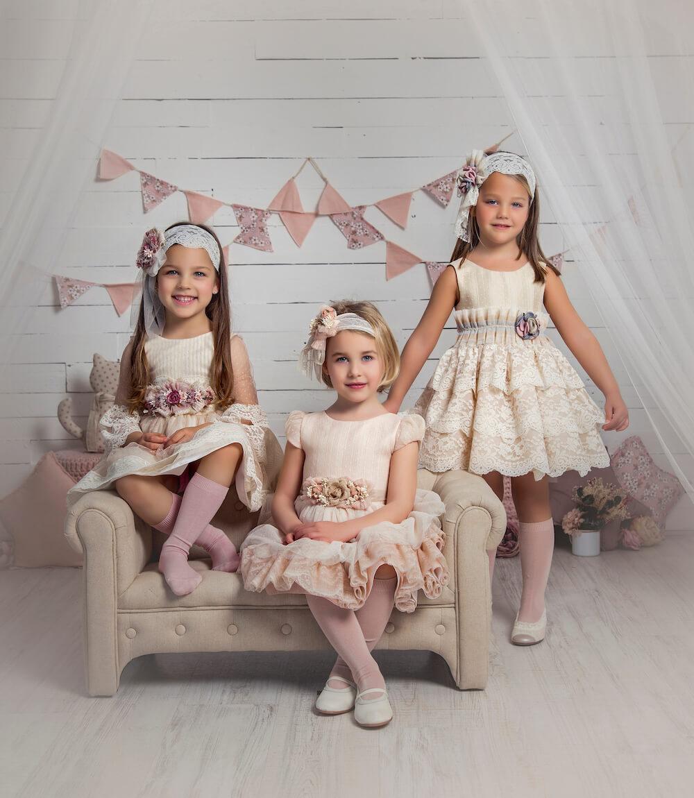 Vestidos invitadas niñas
